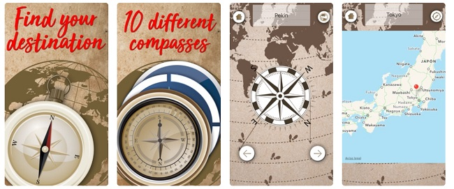 Digital Compass App