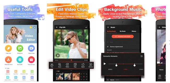 Vine Video editor Apps