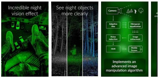 night vision camera app