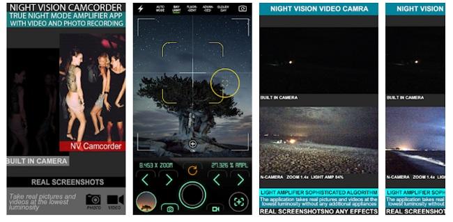 night camera apps