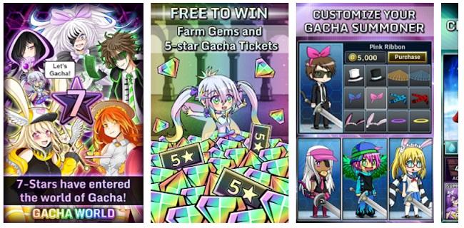fun gacha games